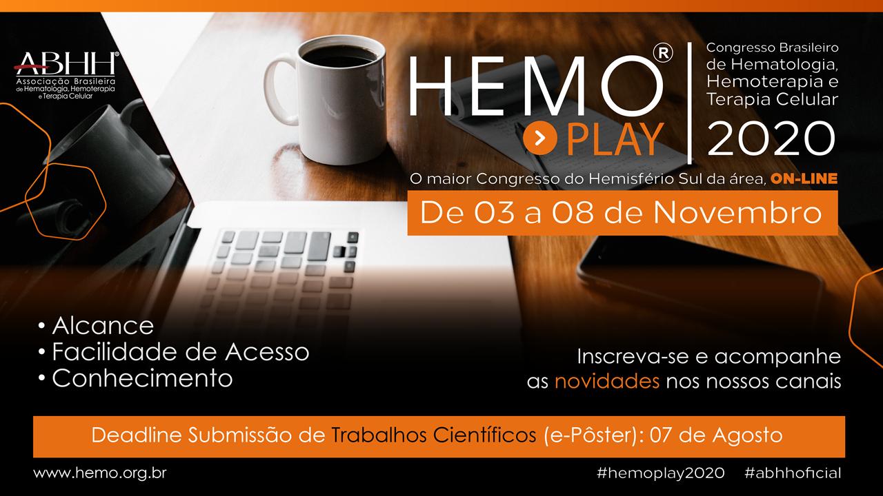 Congresso Brasileiro de Hematologia, Hemoterapia e Terapia Celular - HEMO 2020