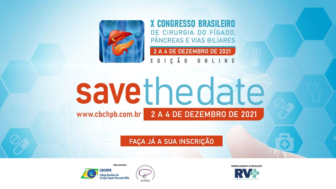 X Congresso Brasileiro de Cirurgia do Fígado, Pâncreas e Vias Biliares