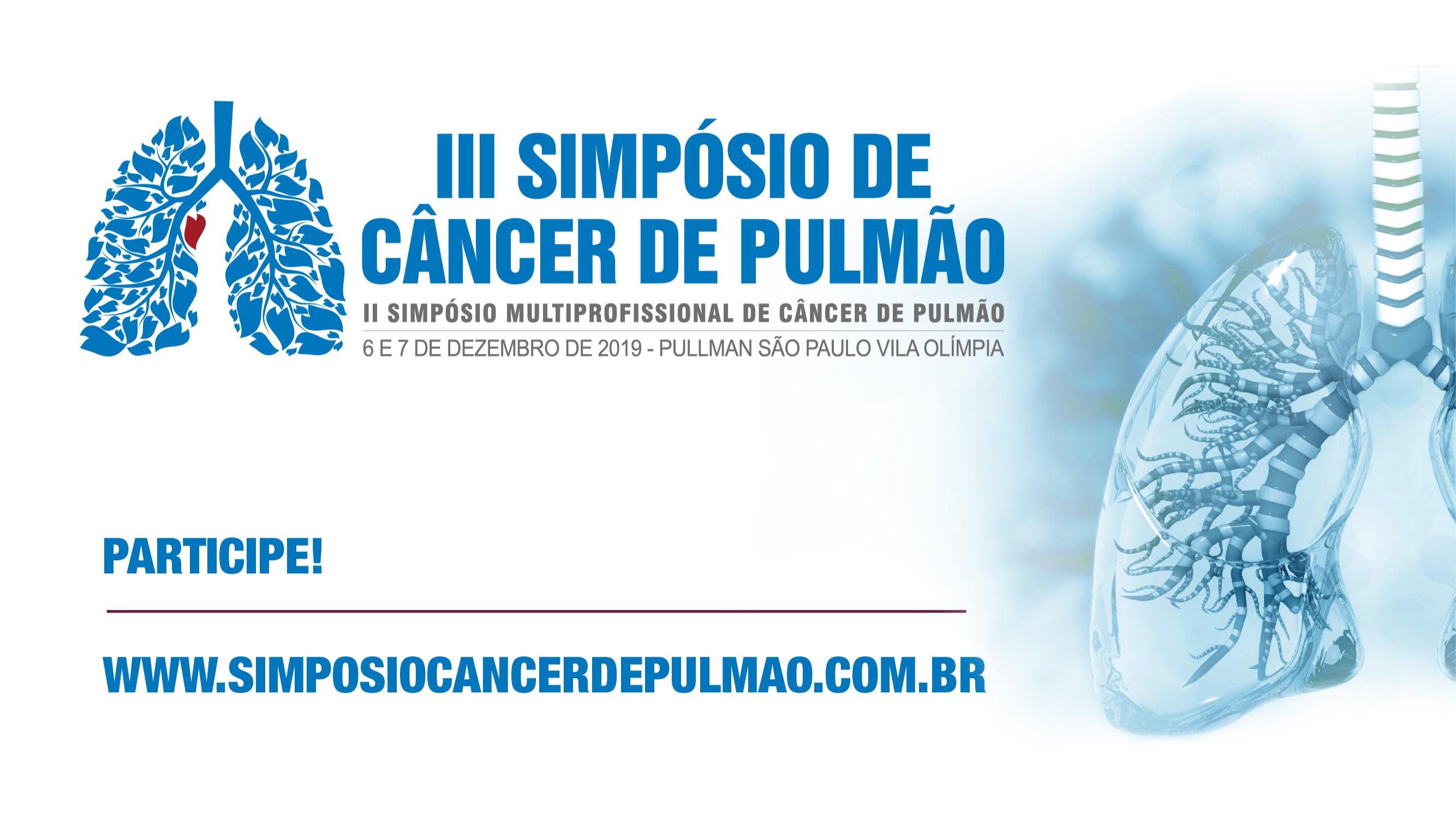 III Simpósio de Câncer de Pulmão