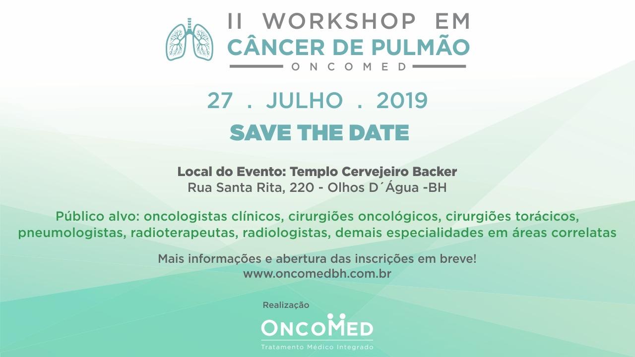 II Workshop em Câncer de Pulmão Oncomed BH