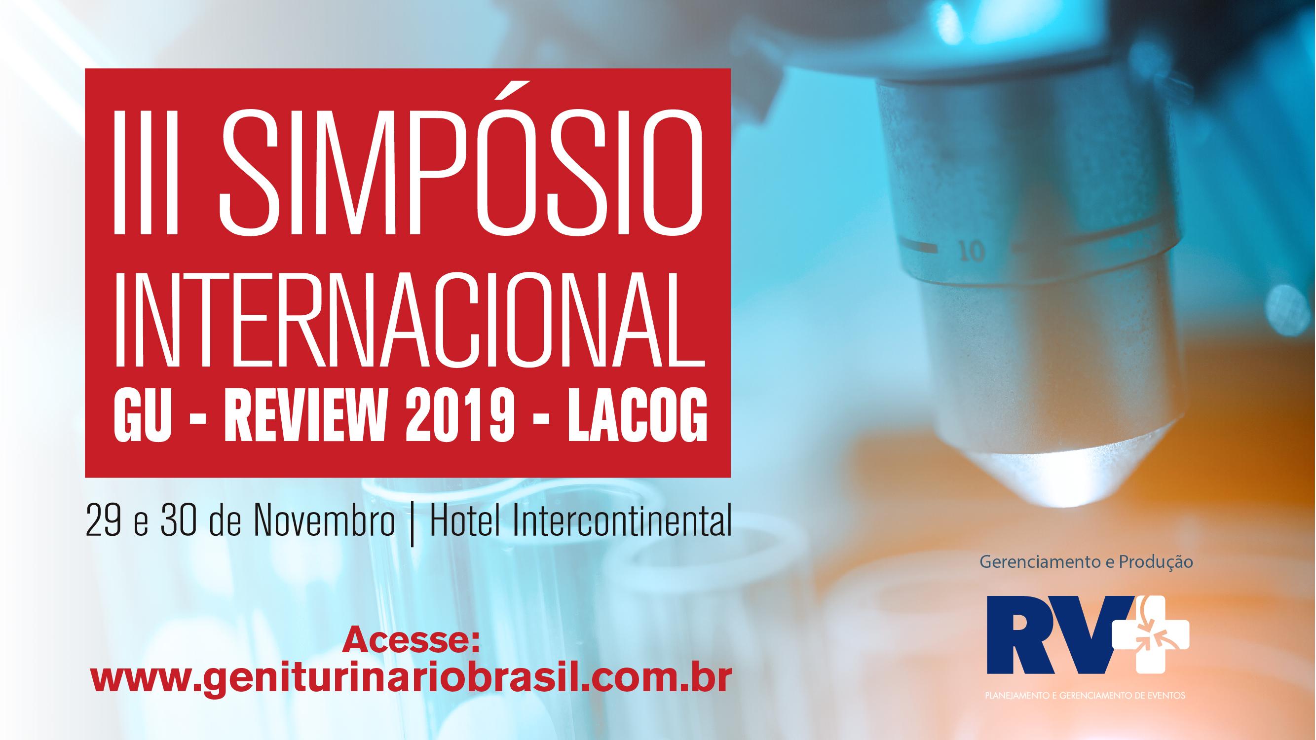 III Simpósio Internacional - GU Review 2019 Lacog