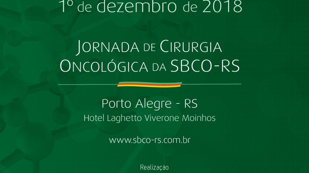 Jornada de Cirurgia Oncológica da SBCO-RS
