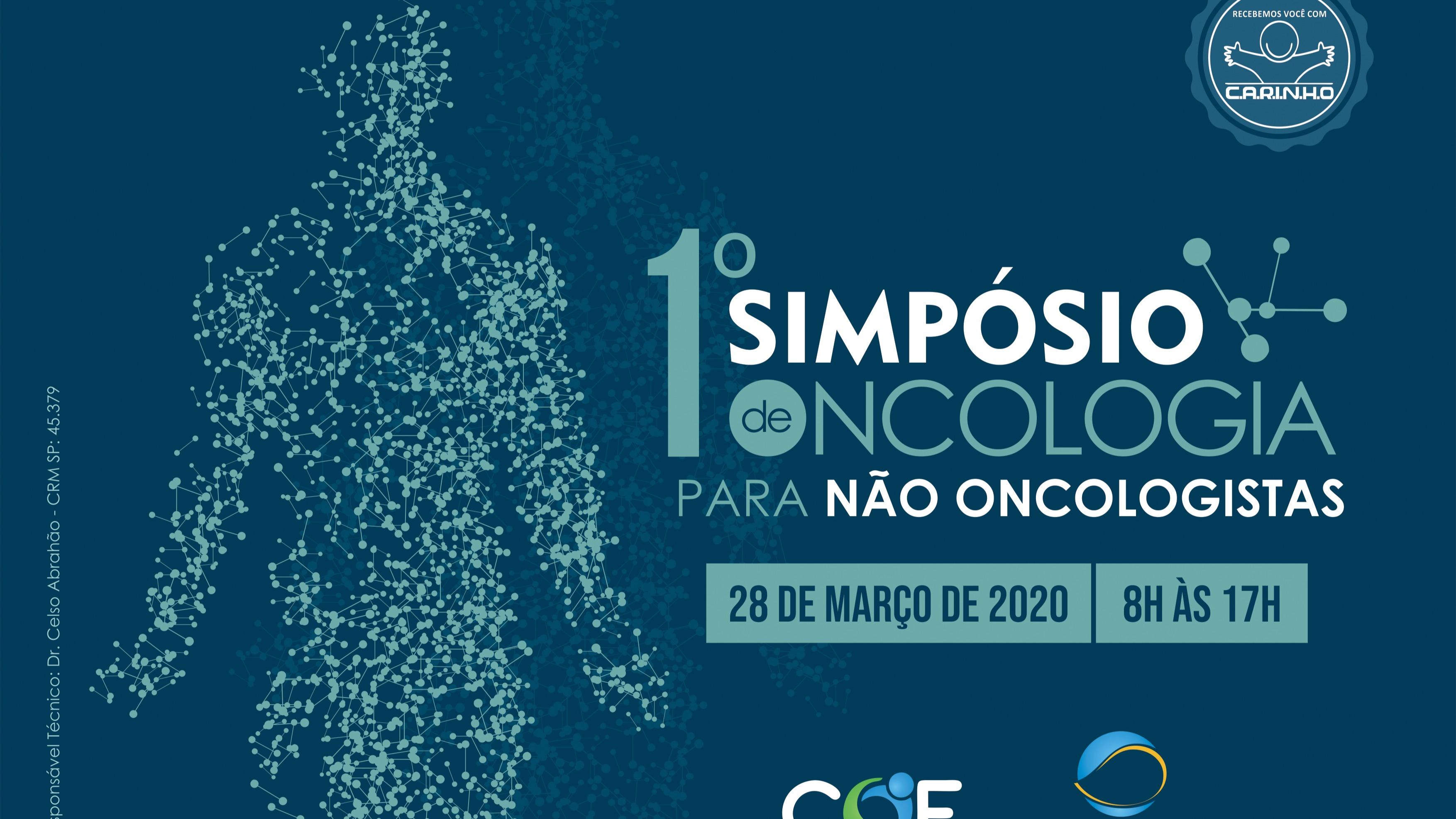 I Simpósio de Oncologia para Não Oncologistas do COE/Incon
