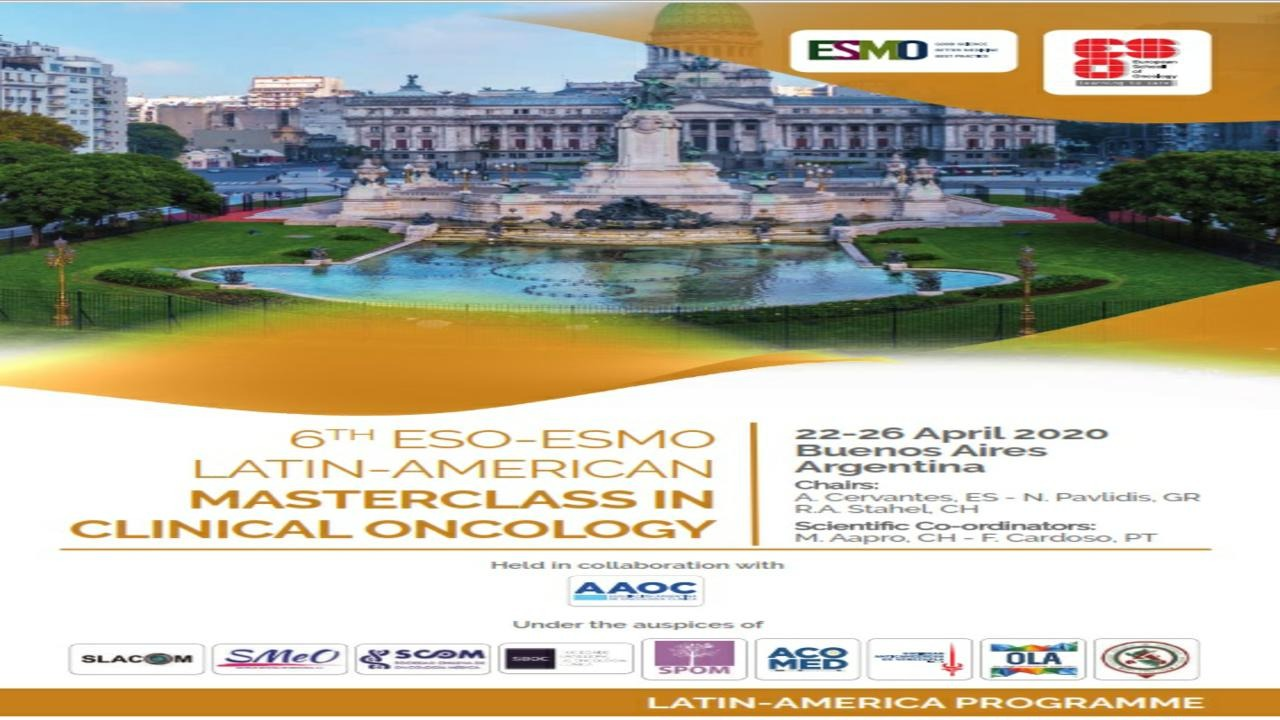 6th ESO-ESMO Latin-American Masterclass in Clinical Oncology