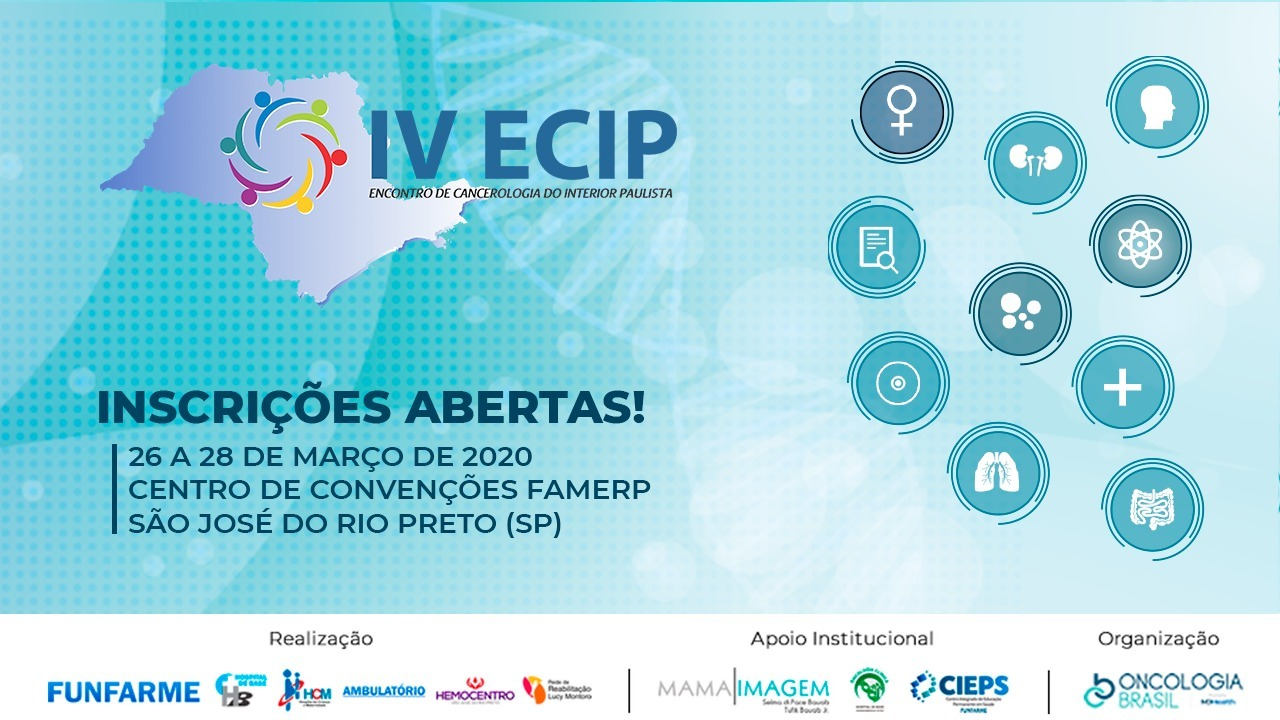 IV ECIP - ENCONTRO DE CANCEROLOGIA DO INTERIOR PAULISTA
