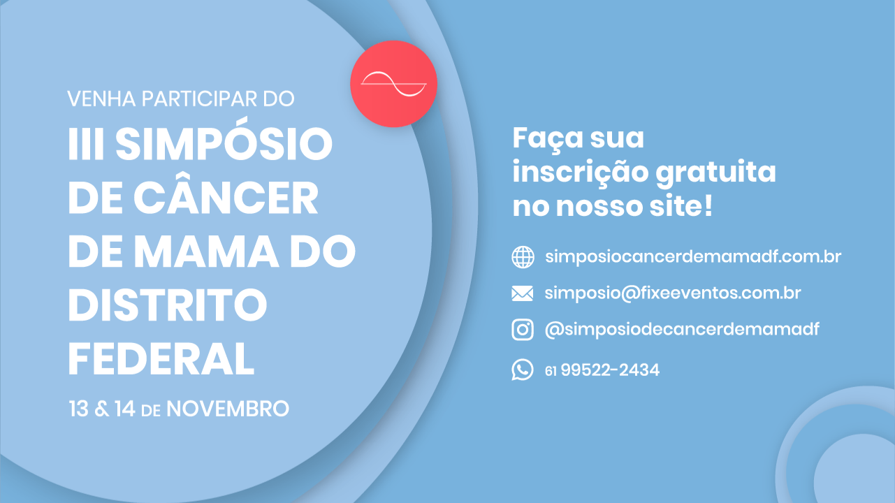 III SIMPÓSIO DE CÂNCER DE MAMA DO DF