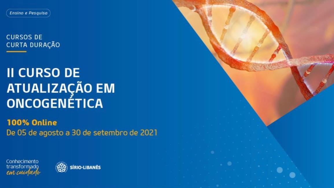II Curso de Atualização em Oncogenética