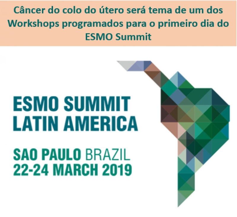 Câncer do colo do útero será tema de Workshop no ESMO Summit