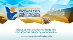 VI Congresso Internacional Oncologia D'Or