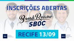 Board Review SBOC em Recife