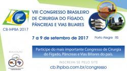 VIII Congresso Brasileiro de Cirurgia do Fígado, Pâncreas e Vias Biliares