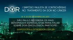 I SIMPÓSIO PAULISTA DE CONTROVÉRSIAS NO TRATAMENTO DA DOR NO CÂNCER